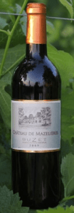 Chateau de Mazelieres bottle