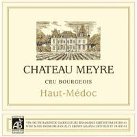 Chateau Meyre wine label