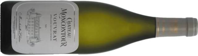 Vouvray wine bottle