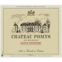 Chateau Pomys wine label
