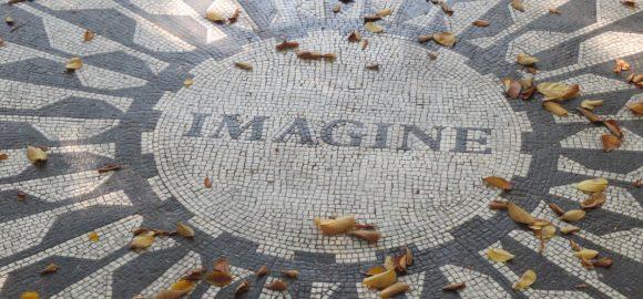 NYC - Hommage à John Lennon, Central Park Ouest