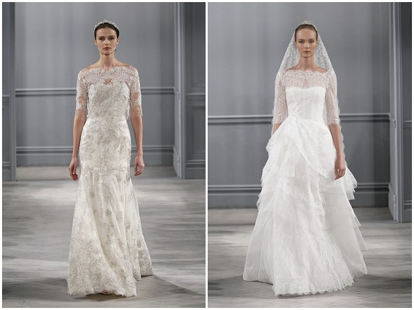 Monique Lhuillier Spring 2014 Bridal Collection