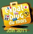 Expat Blog - Blog du mois juin 2011