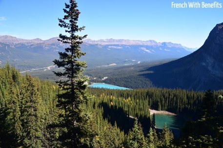 Little Beehive et Lake Louise en dessous