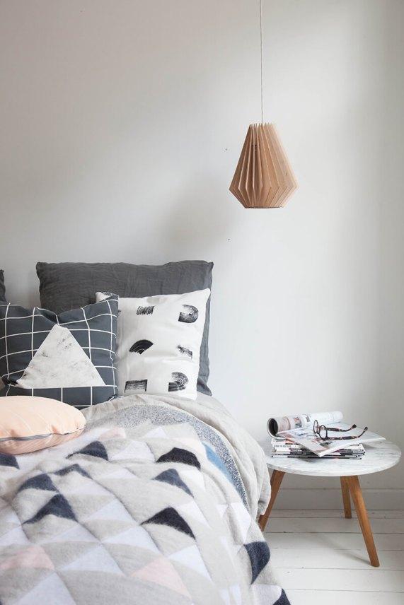 Chambre style nordique