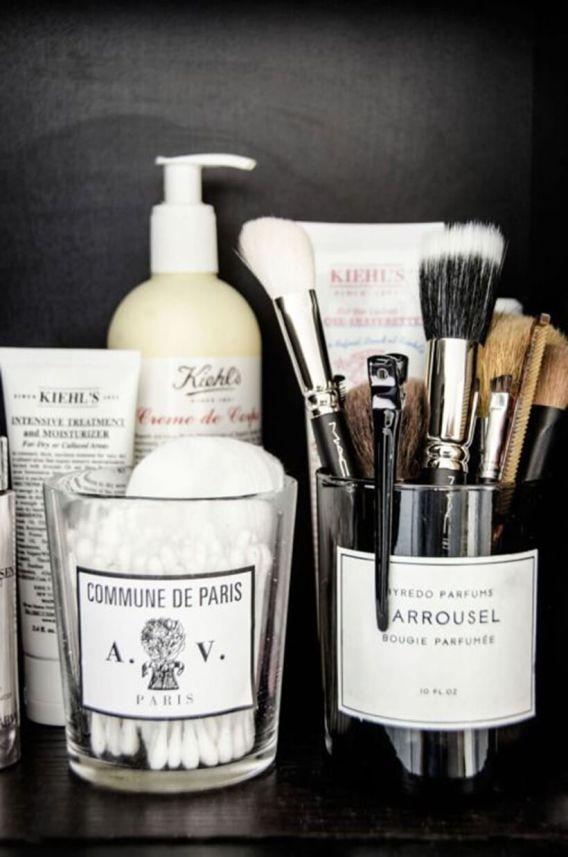 5 astuces pour organiser sa salle de bain frenchy fancy - Astuce de rangement pour salle de bain ...