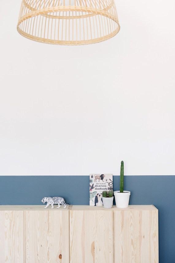 Peindre ses murs à mi-hauteur - FrenchyFancy