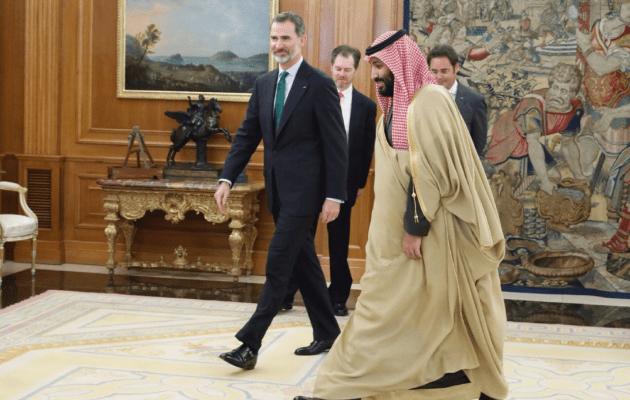 Felipe VI, el arte de llorar a las víctimas y municionar a los asesinos