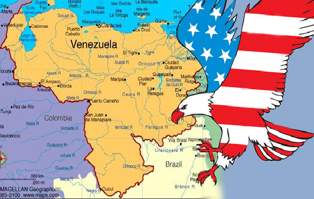¡Con Venezuela, contra la intervención imperialista!