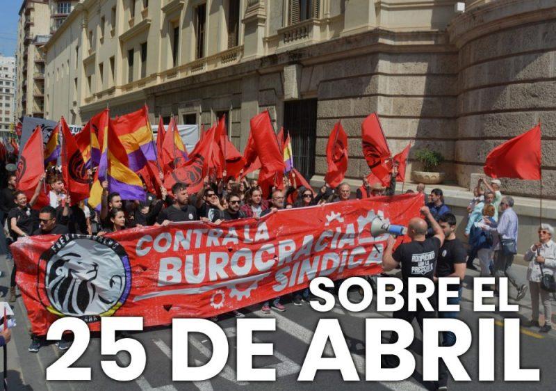 25 abril comunidad valenciana