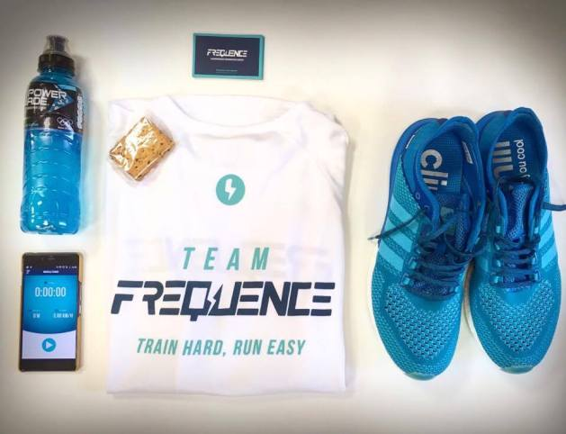 equipement FREQUENCE Running