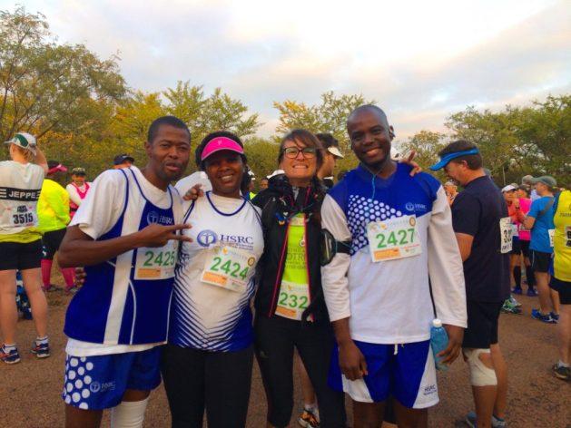 En Afrique du Sud pour le semi marathon de Loskop !