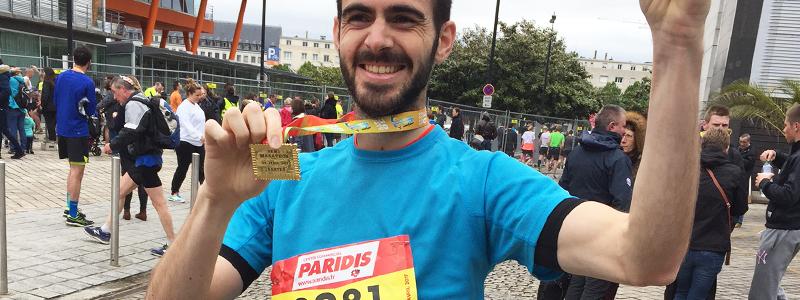 Antoine témoignage semi marathon