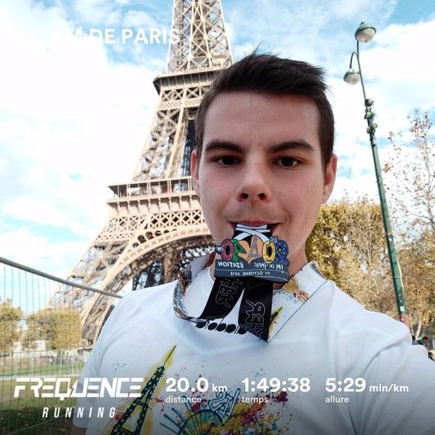 Plan entraînement marathon pour Nicolas