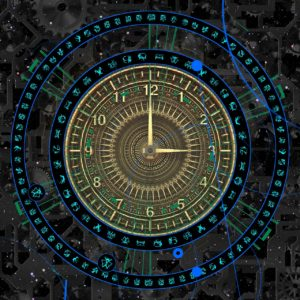 cosmological clock image