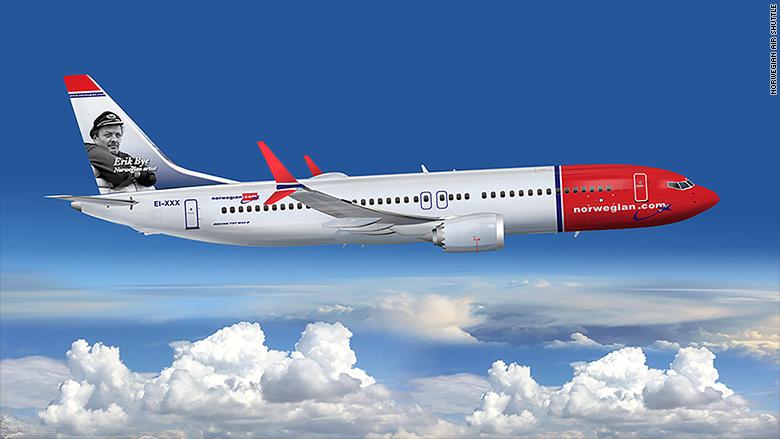 utsettelse av Norwegians bestilte fly Norwegian legger ned