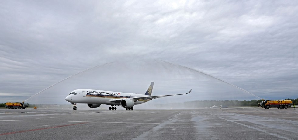 Singapore Airlines nye rute fra Stockholm