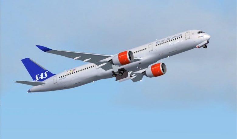 Nesten tre millioner passasjerer SAS lanserer de første Airbus A350