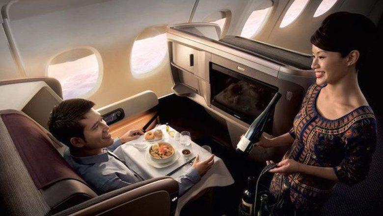 Singapore Airlines åpner