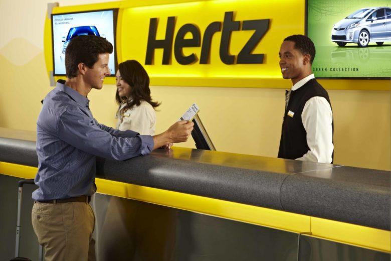 Hertz jubileumstilbud Hertz Global Holdings