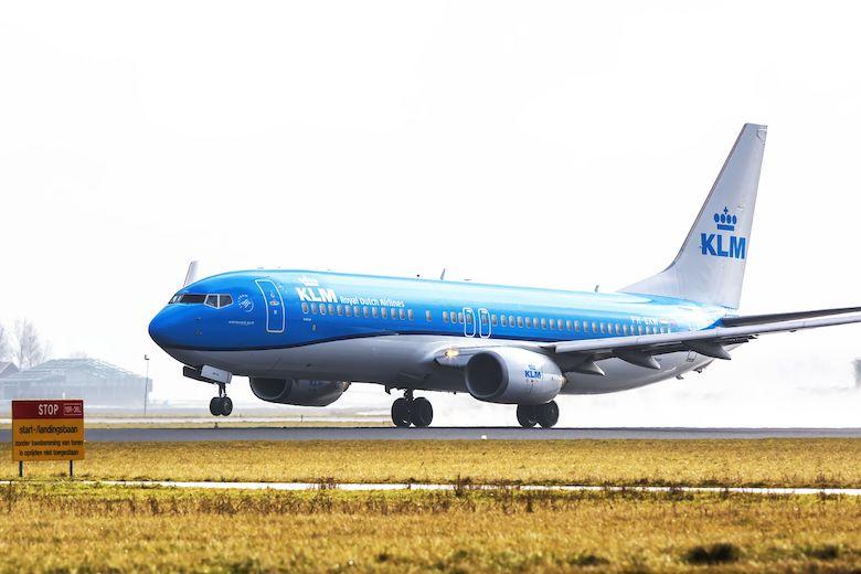 KLM åpner