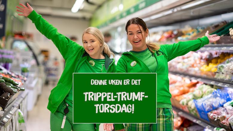 Torsdag 5 desember 2019 Trippel Trumf Torsdag 8 mai 2019