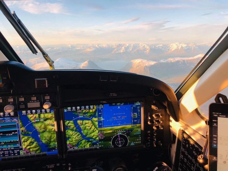 Overgangen har gått som planlagt Babcock og pilotene