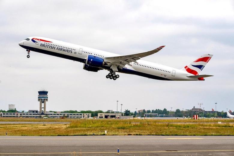 British Airways inaugural