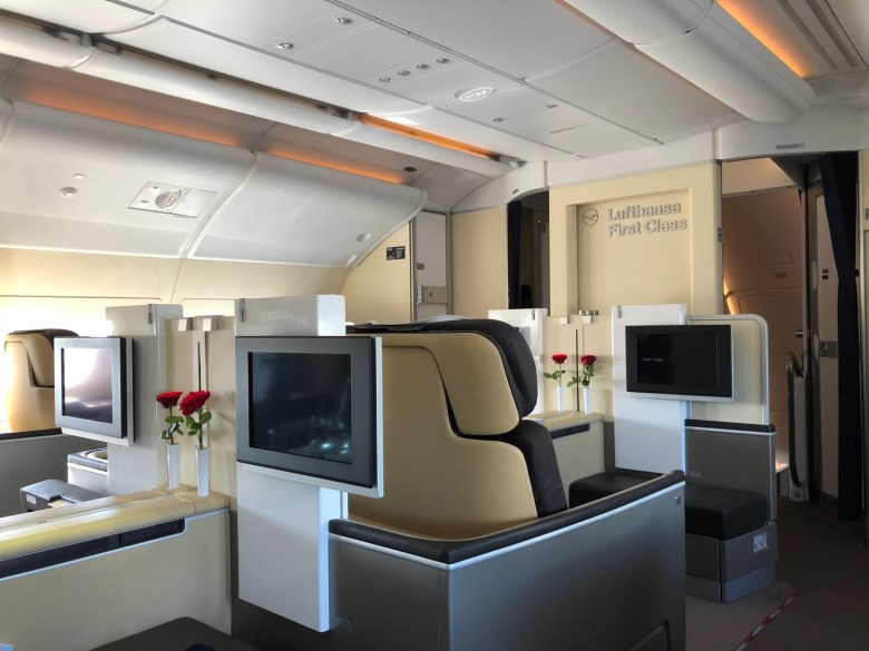 fly Lufthansa First Class Star Alliance bonusreiser