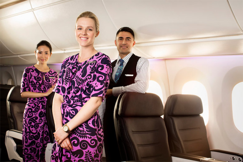 Air New Zealand non stop Auckland