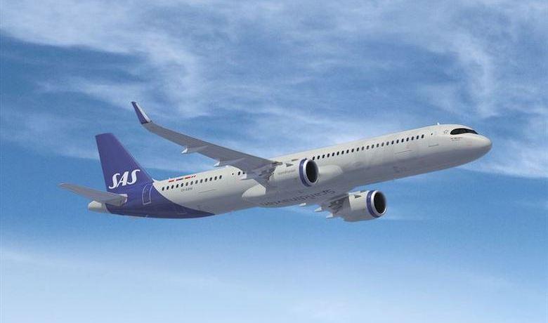 Airbus A321LR SAS torsdag 23 januar 2020