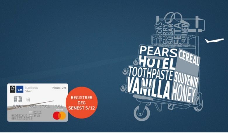 Doble SAS Eurobonus SAS EuroBonus Mastercard Premium