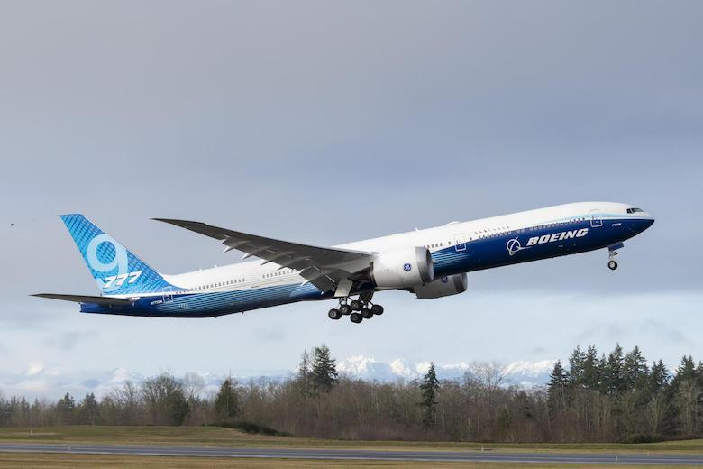 Boeing 777X endelig