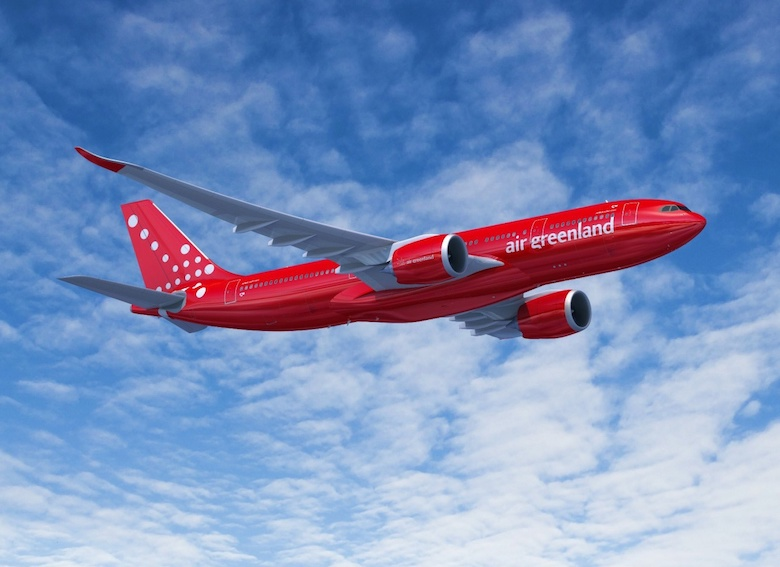 Air Greenland bestiller