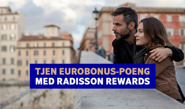 SAS Eurobonus med Radisson Rewards