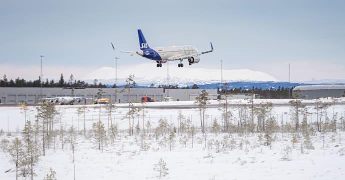 rute til Lakselv SAS fortsetter med direktefly