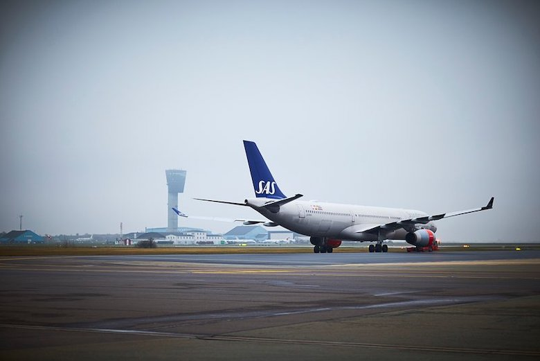 mer dansk Hit flyr SAS