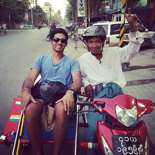 "Yangon ""Uber"""