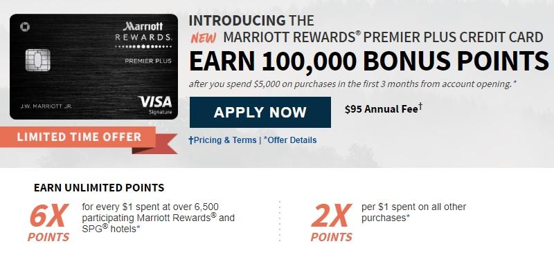 marriott rewards premier plus credit card signup bonus - Marriott Rewards Credit Card No Annual Fee