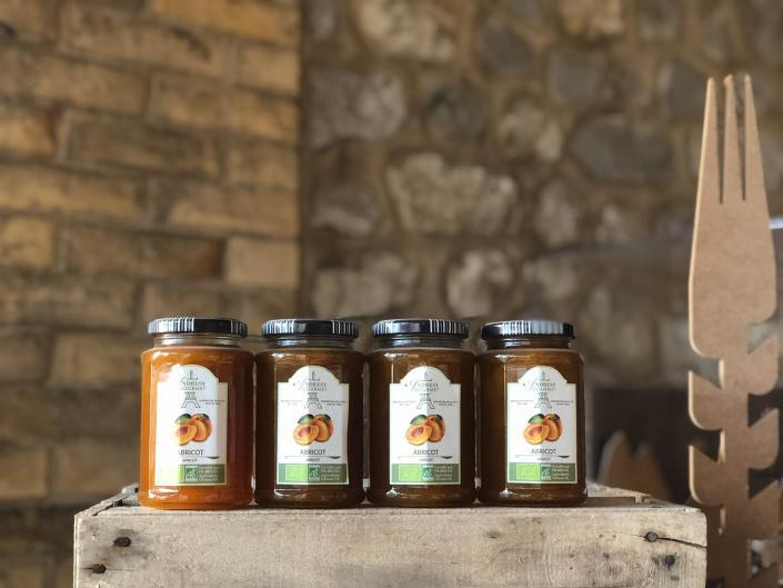 Confitures abricot BIO - Boulangerie des Freres Blavette