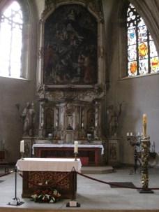 L'église St-Michel, ancienne église des frères.
