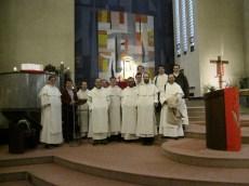 à la paroisse de Luxembourg-Belair