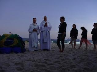 Confirmation sur la plage