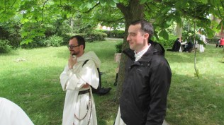 Frère Pierre-André (Lille) et frère Jean-Baptiste Régis (Oxford)