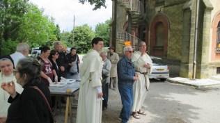 Frère Charles (Lille) et Fère Olivier de Saint-Martin (Toulouse) en plein service