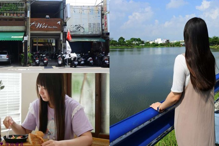 高雄鳳山美髮【Wei hair salon】可可甜美水潤光亮.戶外室內漸層色系.離子直髮不毛躁
