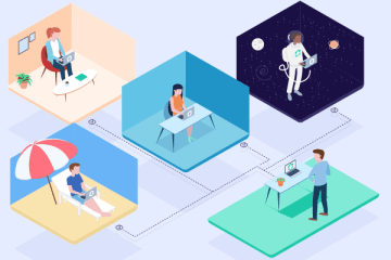 Virtual teamwork from anywhere