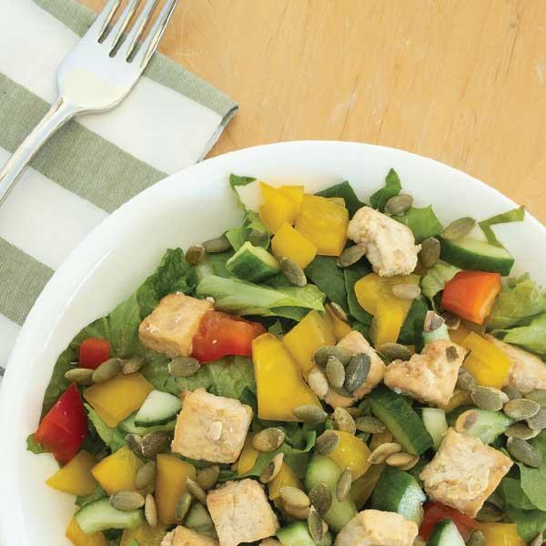 Poppy seed Tofu Salad