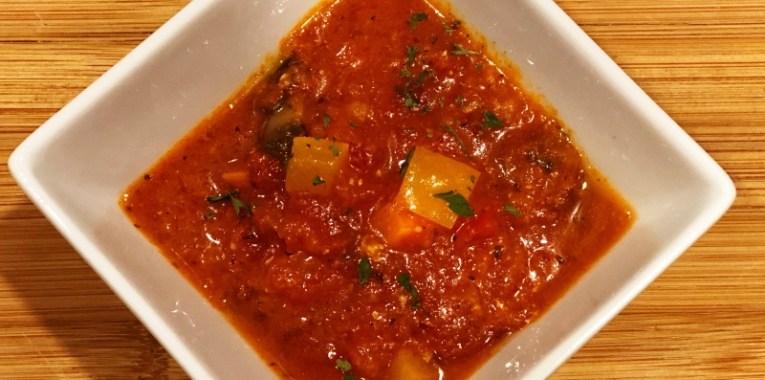 Instant Pot Garden Marinara Sauce