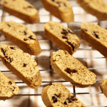 Orange Spice Biscotti with Cranberries and Walnuts